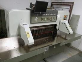1987 polar mohr 115 emc monitor guillotine rh printerspost com au Polar 115 XT at Manual Paper Cutting Machine Automatic